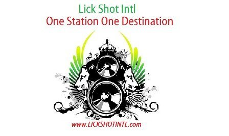 Lick shots definition