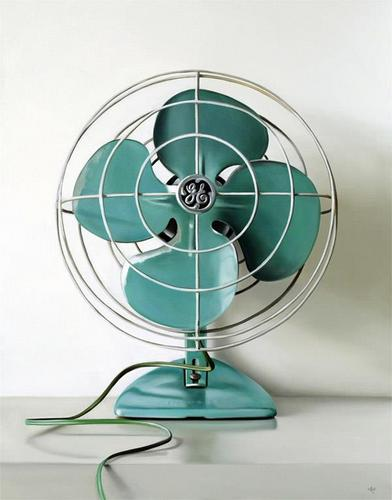 Old Fashioned Table Fans