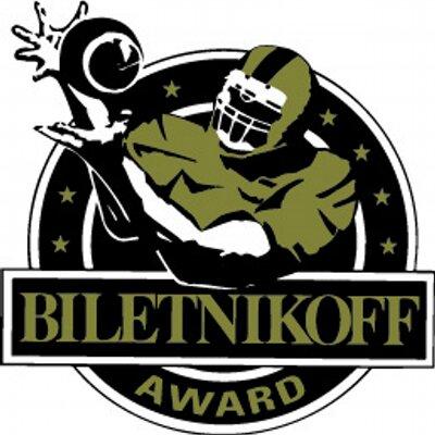 Image result for fred biletnikoff award