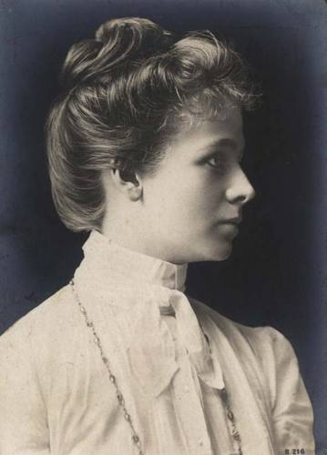 Vintage style portrait photography