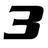 3four3