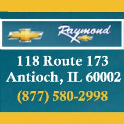 Raymond Chevrolet Antioch Illinois >> Raymond Chevrolet Raymondchevy Twitter