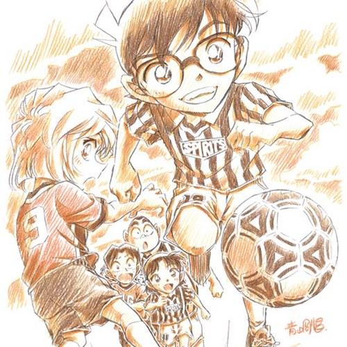 サッカーと江戸川コナン