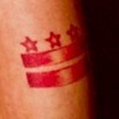 Dc Flag Tattoo