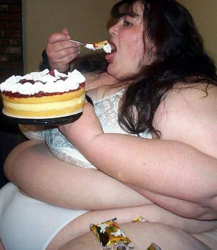 Think, Fat girl eating food opinion you