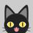 黒猫黒 (@kuroinekokuro)