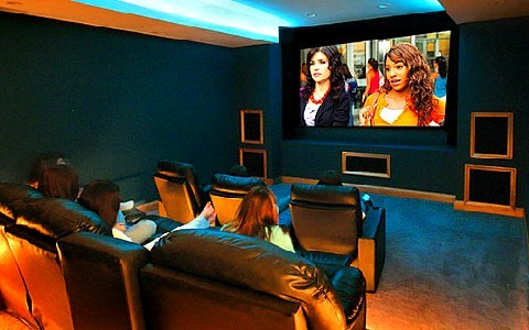 Mi sala de cine misaladecine twitter - Sala de cine en casa ...