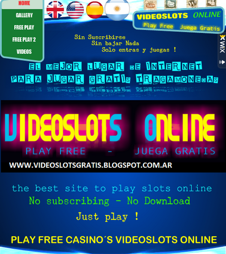 video slots gratis online