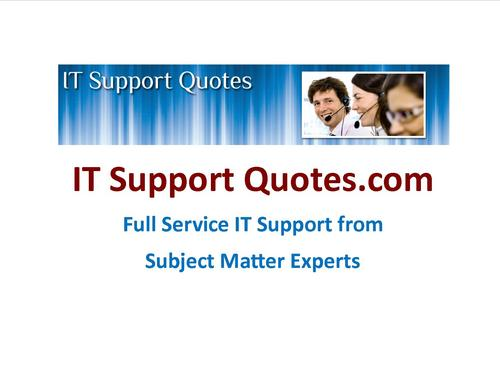 IT Support Quotes (@IT...