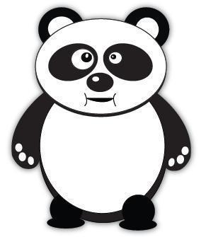Panda bite - photo#19