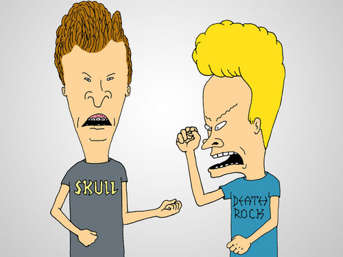 Cartoons from the 90s - Beavis and Butthead