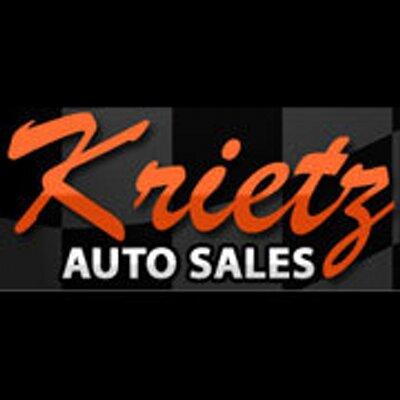 Krietz Auto Sales >> Krietz Auto Sales Krietzautosales Twitter