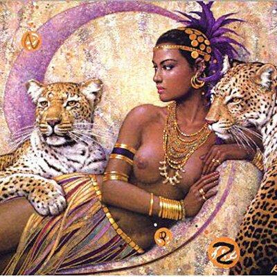 goddess sex art