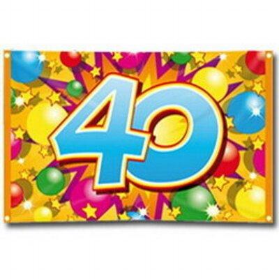 Verjaardag 40 Vrouw