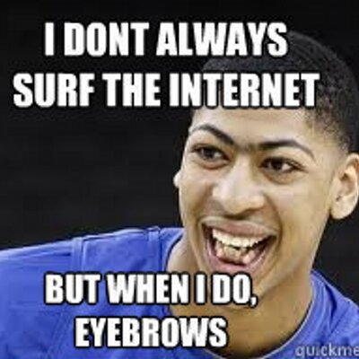 Anthony Davis Meme