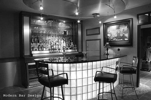 Das Moderne Bar Design: Modern home bar designs for your counter.
