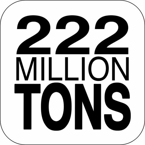 222 million tons 222milliontons twitter. Black Bedroom Furniture Sets. Home Design Ideas