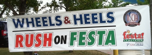 Wheels & Heels 5K Rush on Festa @ Milwaukee's Lakefront | Milwaukee | Wisconsin | United States