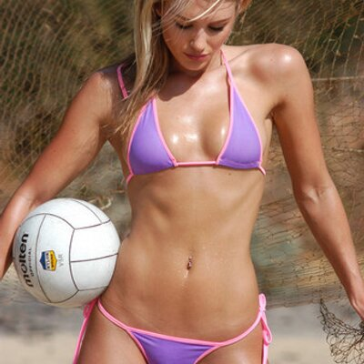 Girl hot nicky whelan volleyball