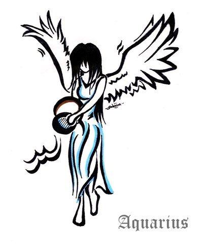 420 Gambar Keren Zodiak Aquarius Gratis Terbaru