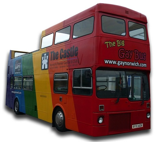 The gay bus