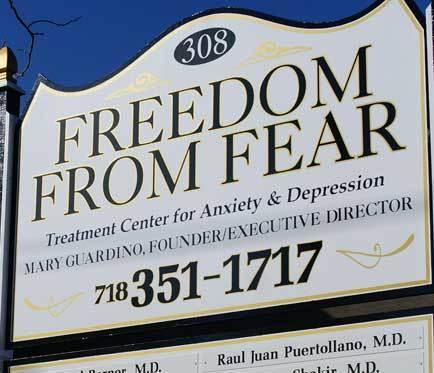 Freedom From Fear Organization Mental health organiza...