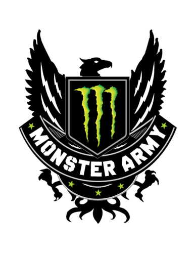 image gallery monster army logo