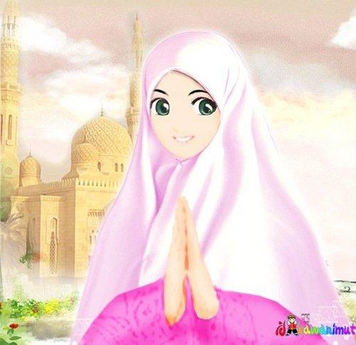 Putri Shaleha Putrishaleha Twitter Foto Kartun Islami Wanita