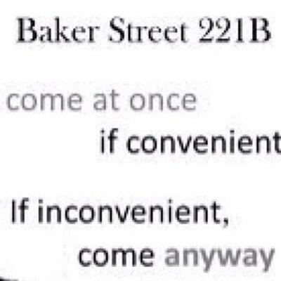 Sherlock Quotes (@SherlockianFans) | Twitter