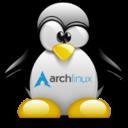 Archlinux tux 192 reasonably small