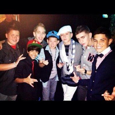 ICONic Boyz and 8 Flavahz dancing NRG Tour 2013 Atlanta
