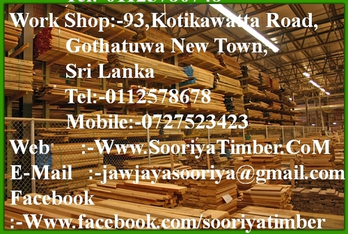 Sooriya Timber on Twitter:
