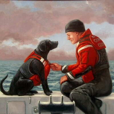 Onyx: A Coast Guard Dog