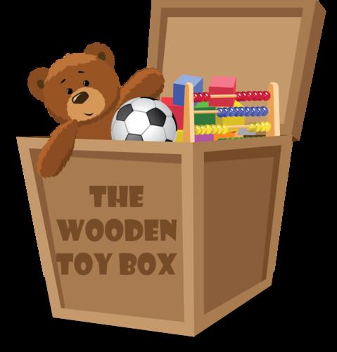 Kid Wooden Toy Box
