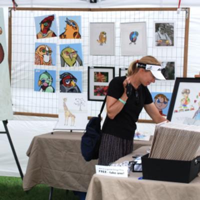 Art market show