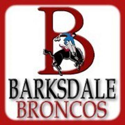 Barksdale Broncos (@barksdalebronco) Twitter profile photo