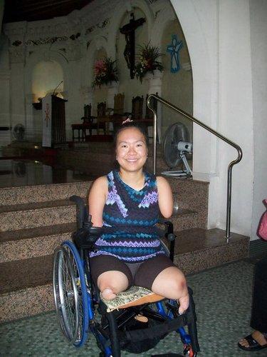 Devotee stories wheelchair Paradevo's Devotee