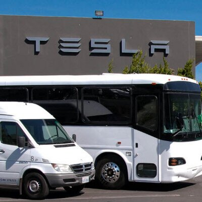 Tesla shuttle service fremont