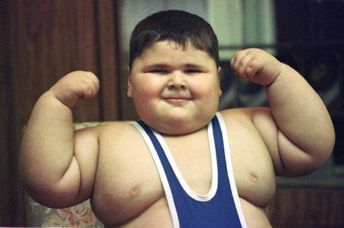 Boy chubby fat