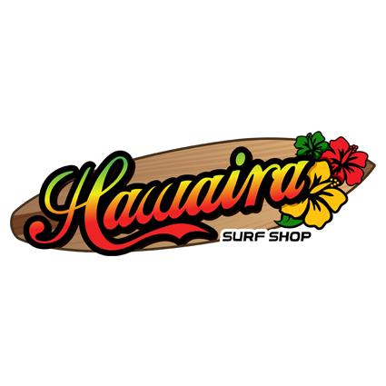 Surf Shop Logo Hawaira Surf Shop
