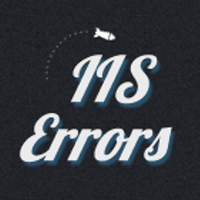 IIS Errors (@IISErrors)   Twitter