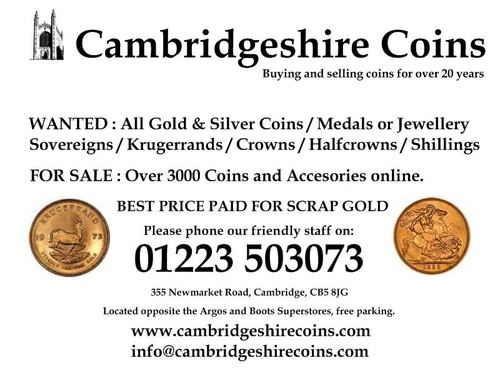 Cambridgeshire Coins (@CambsCoins) | Twitter