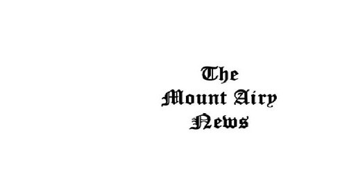 Mount Airy News newspaper