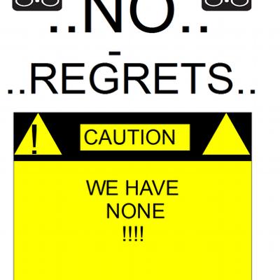 no regrets deutsch