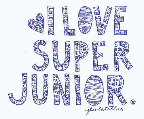 i love super junior logo - photo #9