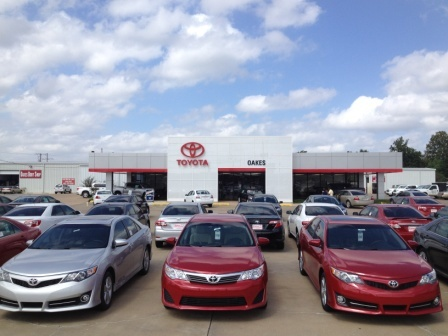 Your locally owned President's Award winning Toyota dealer. Offering a body shop, tire center and genuine Toyota parts and accessories.   662-378-8101