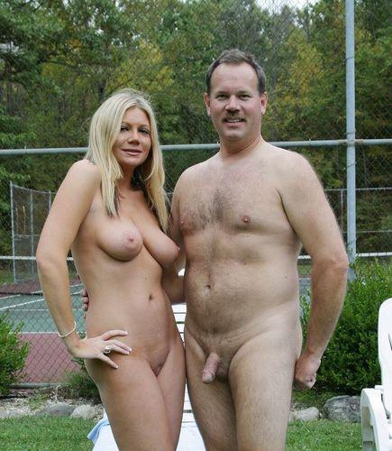 голые муж и жен фото поднял