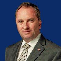 Barnaby Joyce (@BarnabyJoyceLNP )