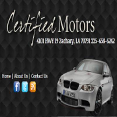 Certified Motors Certifiedmotor1 Twitter