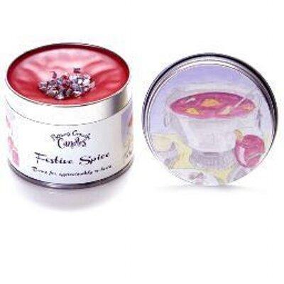 Candle Tin Magnolia /& Vanilla Potters Crouch
